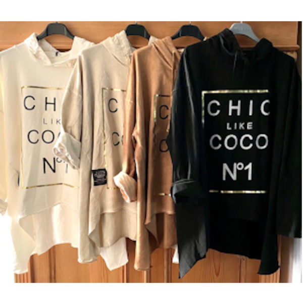 Hoodie Coco Alle